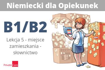#5 Niemiecki dla Opiekunek - miejsce zamieszkania: słownictwo | B1/B2