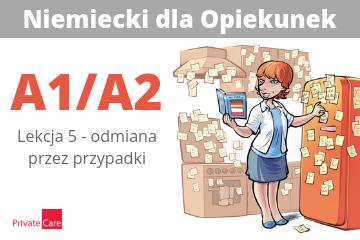 #5 Niemiecki dla Opiekunek - odmiana przez przypadki | A1/A2