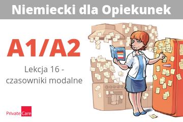 #16 Niemiecki dla Opiekunek - czasowniki modalne | A1/A2